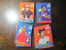 1986 Fleer All-Star Team Insert Complete Set