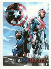 2014 Upper Deck CAPTAIN AMERICA The Winter Soldier Cap's Legacy # CL-7