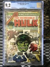 incredible Hulk annual #5 second apperance of Groot! CGC Graded 9.2  Kirby !