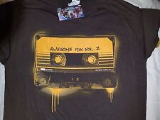 NWT Nerd Block Guardians of the Galaxy Awesome Mix Volume 2 T-Shirt Adult M
