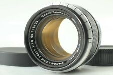 [N MINT] Canon 50mm F1.8 MF Lens L39 Mount for LTM Leica Camera w/Cap From Japan