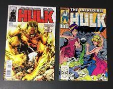 Hulk #36 1st YELLOW HULK 🔥 Incredible Hulk #347 1st Joe Fixit Hulk🔥2 Books