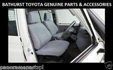 Toyota Landcruiser 70 Series Front Canvas Seat Covers Workmate GX GENUINE NEW