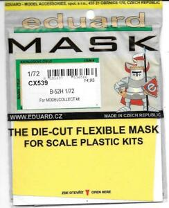 Eduard B-52H Stratofortress Masks for the ModelCollect Kit in 1/72 CX 539 DO ST