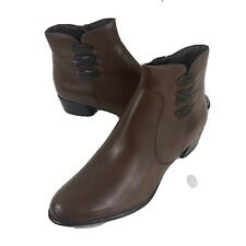 Spring Step Women's Ankle Boots US 9.5 Terenie Leather Comfort New