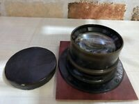 [Exc] Carl Zeiss Jena Tessar 25cm F4.5 for large format camera from Japan #465