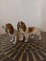 Hutschenreuther Porzellanfigur 2 Hunde - 28 cm -
