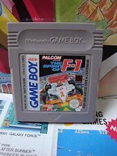 Game Boy GB:The Spirit of F-1 [TOP PALCOM / 1ERE EDITION] SEUL - Fr