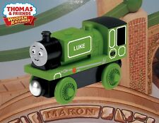 THOMAS & FRIENDS WOODEN RAILWAY ~ LUKE ~  Y4087 ~ NEW IN THE BOX - 1ST CLASS HTF