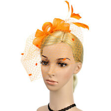 Feather Net or Other Clip Hat Fascinator Wedding Ladies Day Race Royal Ascot NEW