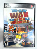 Tom and Jerry War of the Whiskers Sony PlayStation 2 Complete Game PS2 TESTED!