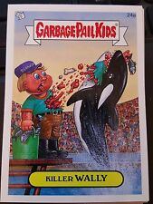 Garbage Pail Kids 2007 All-New Series ANS 7 #24a Killer Wally NrMint-Mint