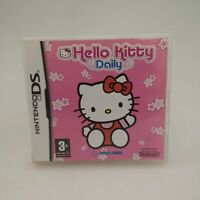 Hello Kitty Daily Game for Nintendo DS in Good Condition | Complete CIB
