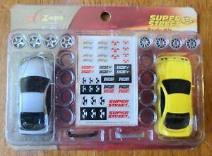 ZipZaps SE 1/64 RC Super Street Body Kit Tops - Free Shipping!