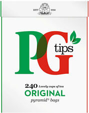 PG Tips 240 Tea Bags (to buy more check Description) From UK