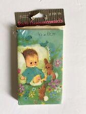 Vintage Buzza Cardoza Set of 10 Cards/ Envelopes~ Birth Announcements~ New !