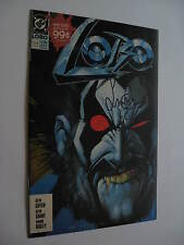 Lobo  #1 (mini)   SIGNED Simon Bisley  VF/NM  (1990) - full signature