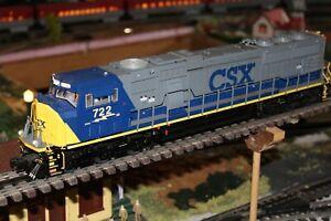LIONEL 2-11556- CSX SD-70 MAC # 722 DIESEL W/RAILSOUNDS/TMCC