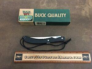 Buck USA FishLocker folding Fillet Knife 549 black New old stock