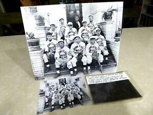 1900's Crown Flour Baseball Team Photo Stockton CA Original Logan Negative