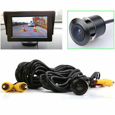 170° Mini Waterproof HD CCD Car Rear View Reverse Backup Camera Night Vision AS