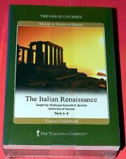NEW ~ TEACHING COMPANY ~ ITALIAN RENAISSANCE 6 DVDS & COURSEBOOK FACTORY SEALED