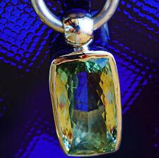 Anhänger Silber unterschiedliche Edelsteine rosevergoldet Handarbeit