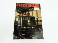 Fleischmann ho n Piccolo auto rally catálogo 1977