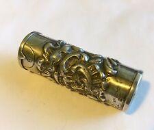 Antique Vintage Art Nouveau Sterling Needle Holder/Case