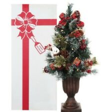 """Kringle Express 24"""" Pre-lit Decorated Christmas Tree in Gift Box"""