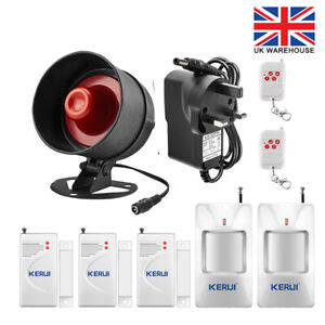 KERUI Standalone Home Office Shop Garage Security Alarm System Kit 110dB Alarm