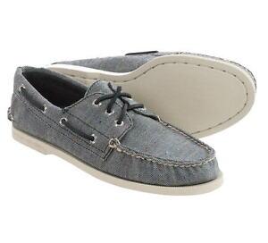 Sperry 12094 Men's A/O 3-Eye Fleck Canvas Boat Shoes  8.5 M (D)