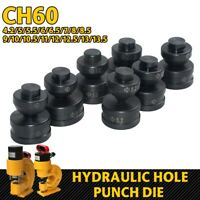 1 Set Black Round Hydraulic Hole Punch Die for CH-70 Hydraulic Punching Machine
