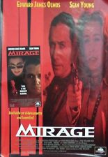 Mirage Original Single Sided Video Poster 1995 Sean Young Edward James Olmos