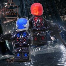 **NEW**LYL BRICK Custom Arkham Knight Lego minifigure, Set Of 2
