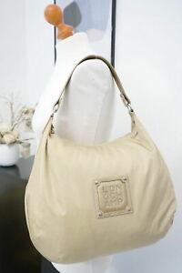 LONGCHAMP aktuelle xl Schultertasche Shopper Tasche beige-gold