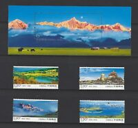 China 2010-23 S/S Scenery of Shangrila Stamps set Mountain 香格里拉