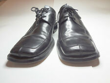 Giovanni Classic Men's Leather Square Toe Shoes Black Size 9