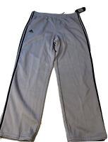 """New Adidas Originals Men's Aluminum BLK """"Pindot"""" Sweat Track Pants SIZE XL"""