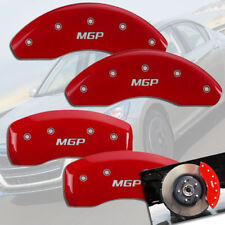 "2003-2011 Honda Element Front + Rear Red ""MGP"" Brake Disc Caliper Covers 4pc Set"