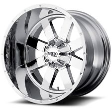 22 Inch Chrome Wheels LIFTED Ford Truck F250 F 350 8 Lug Moto Metal MO962 22x10