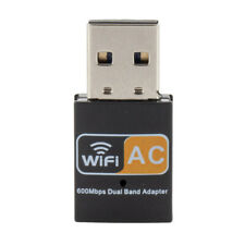 Drahtloser 600Mbps USB Wifi Adapter 5GHz WiFi Antenne Mini
