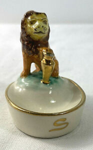 Capodimonte Vintage Lion Ashtray Made For BAT Sydney