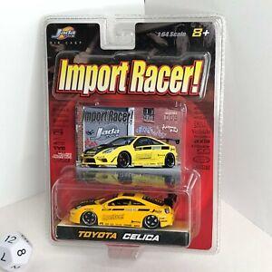Jada Toys Import Racer! 1:64 2003 Toyota Celica T230 7Gen Bomex Rotora XS RARE