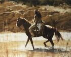The Captain's Horse #21/200 Limited Edition Print Howard Terpning NEW Canvas