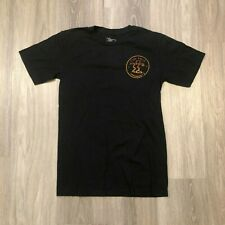 Da Hui Hawaii Mens Small Double Sided Graphic T Shirt Cotton Black