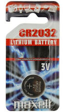 Maxell CR2032 3-Volt Lithium Coin Cell Button Battery
