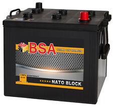 LKW Batteie 125Ah 900A/EN 12V Nato Block Starterbatterie Unimog Mercedes MAN