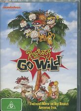 RUGRATS GO WILD - A PERFECT FAMILY FILM - ANIMATION - DVD - NEW