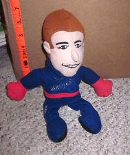 MARK MARTIN beat-up doll 1996 beanie Ford Thunderbird #6 Valvoline plush toy